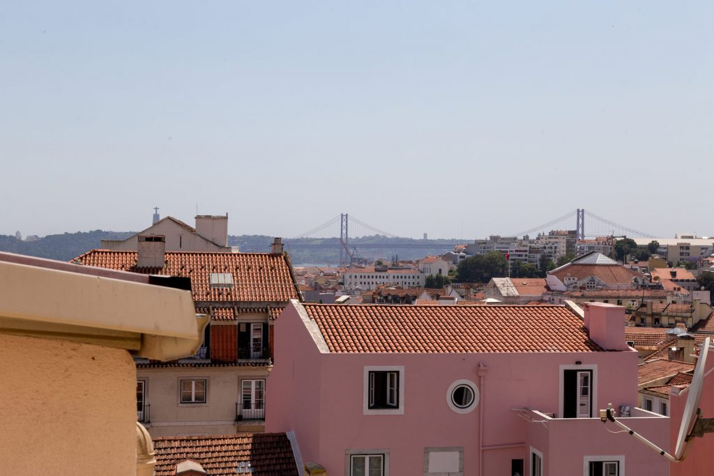 PRÍNCIPE REAL, HIDDEN TERRACE, LISBON VIEWS